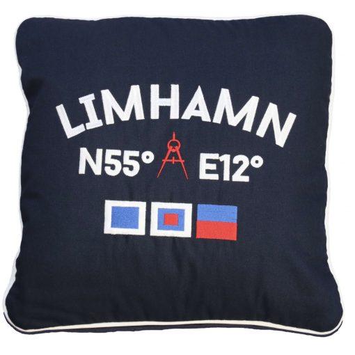Kokkolit Limhamn kudde navy
