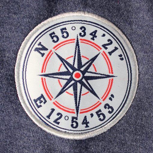 Kokkolit Limhamn navy hood emblem