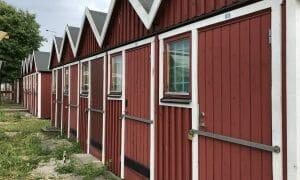 Hoddor på Limhamn
